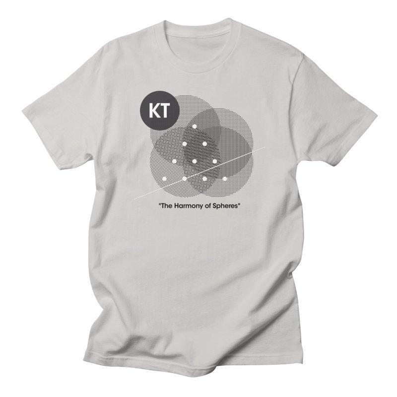 "KT ""The Harmony of Spheres"" (designed by Matt Klimas) Men's Regular T-Shirt by The Cherub Records Shop"