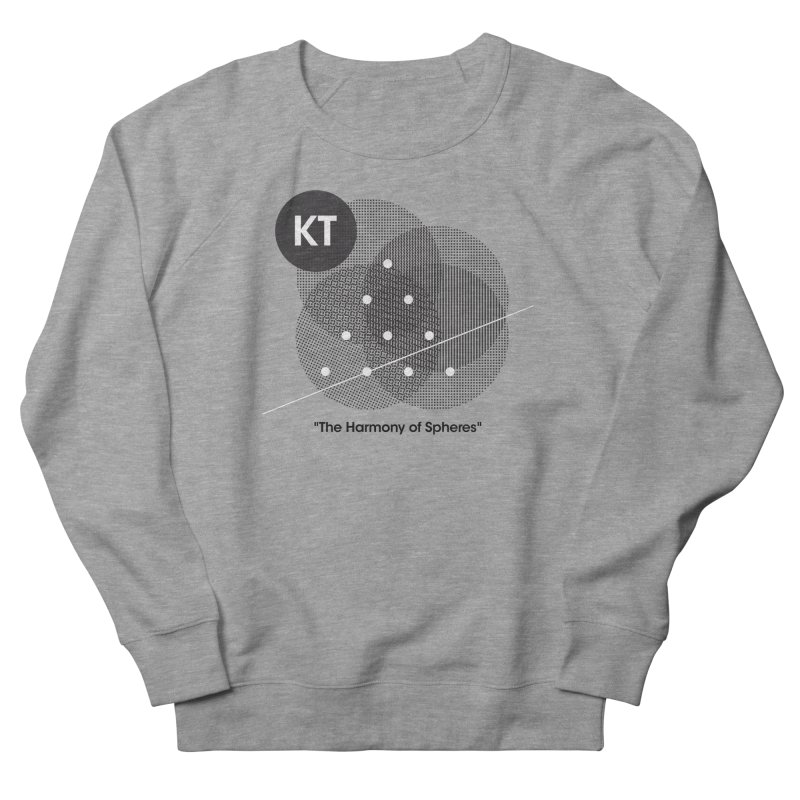 "KT ""The Harmony of Spheres"" (designed by Matt Klimas) Women's French Terry Sweatshirt by The Cherub Records Shop"