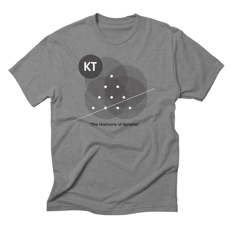 "KT ""The Harmony of Spheres"" (designed by Matt Klimas) Men's Triblend T-Shirt by The Cherub Records Shop"