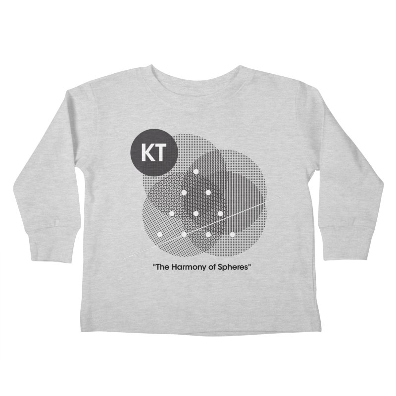 "KT ""The Harmony of Spheres"" (designed by Matt Klimas) Kids Toddler Longsleeve T-Shirt by The Cherub Records Shop"