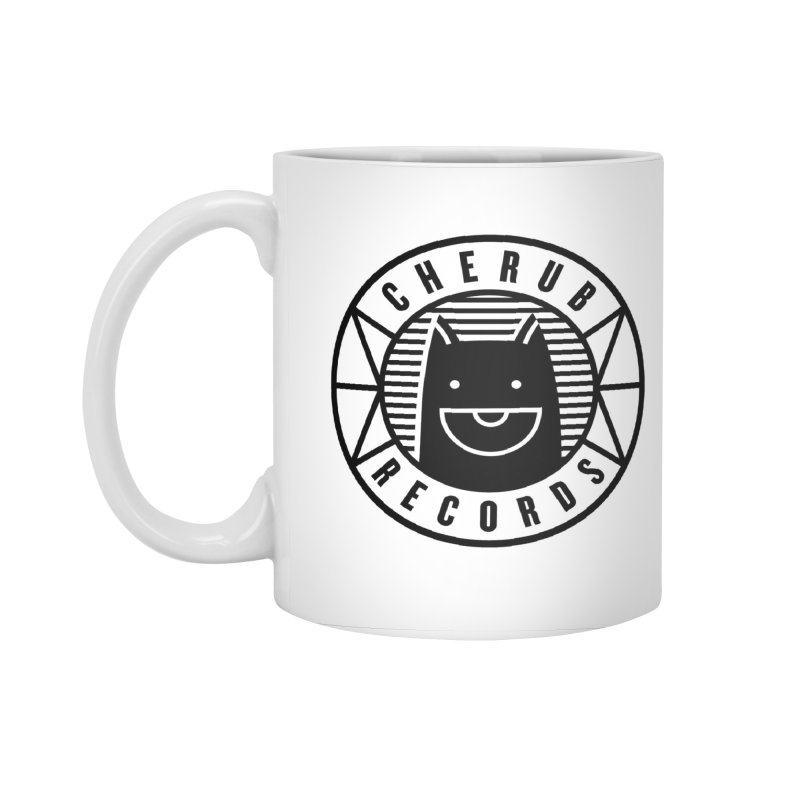 Cherub Circle Logo Accessories Mug by The Cherub Records Shop