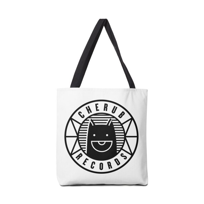 Cherub Circle Logo Accessories Tote Bag Bag by The Cherub Records Shop