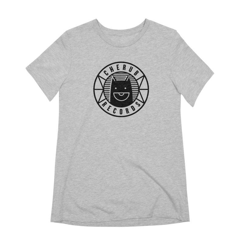 Cherub Circle Logo Women's Extra Soft T-Shirt by The Cherub Records Shop
