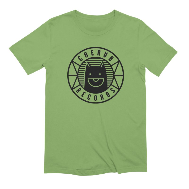 Cherub Circle Logo Men's Extra Soft T-Shirt by The Cherub Records Shop
