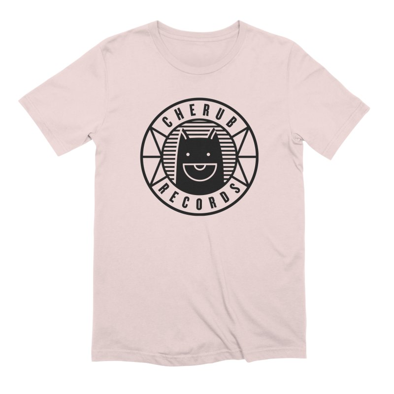 Cherub Circle Logo Men's Extra Soft T-Shirt by The Cherub Records Shop