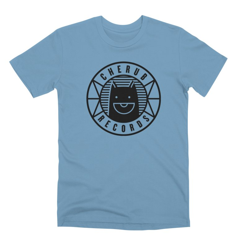 Cherub Circle Logo Men's Premium T-Shirt by The Cherub Records Shop