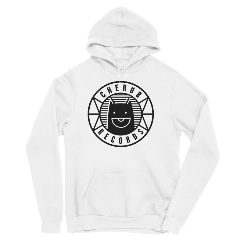 Cherub Circle Logo Men's Sponge Fleece Pullover Hoody by The Cherub Records Shop