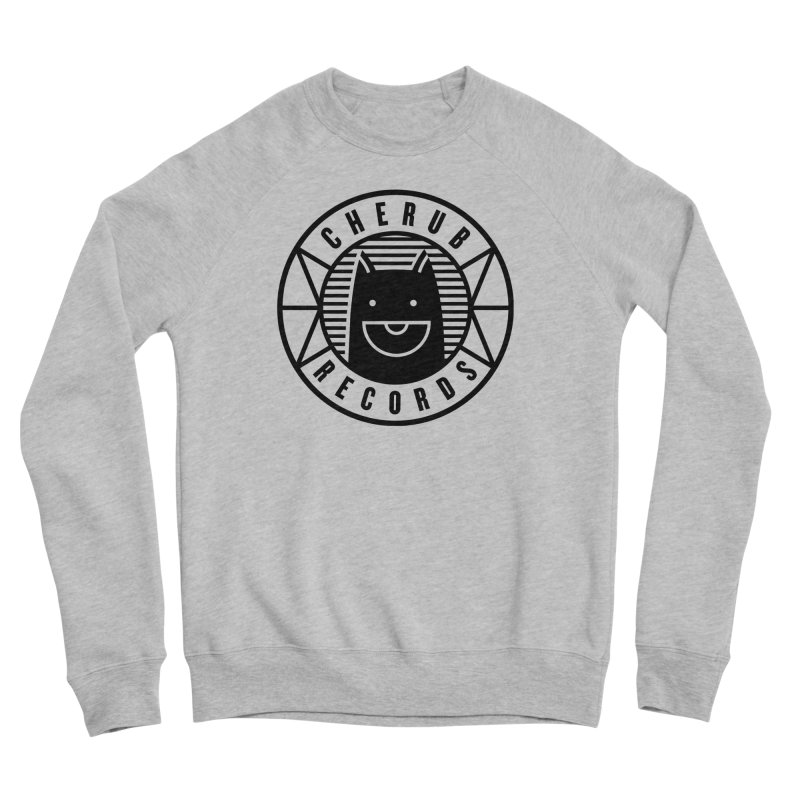 Cherub Circle Logo Men's Sponge Fleece Sweatshirt by The Cherub Records Shop