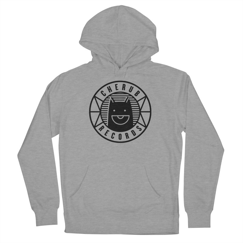 Cherub Circle Logo Men's French Terry Pullover Hoody by The Cherub Records Shop