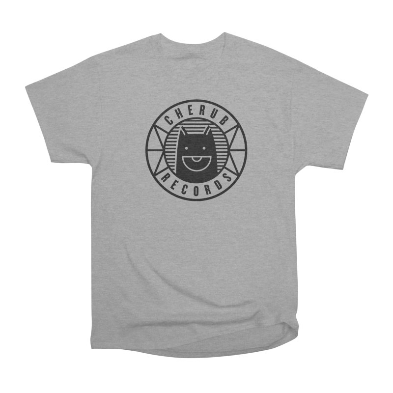 Cherub Circle Logo Women's Heavyweight Unisex T-Shirt by The Cherub Records Shop