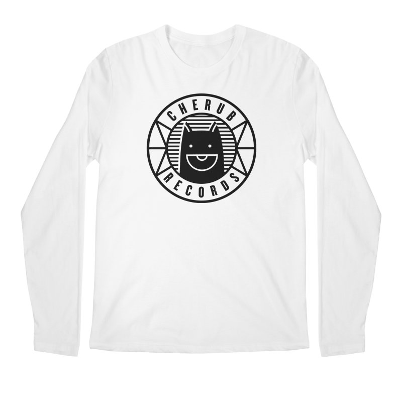 Cherub Circle Logo Men's Regular Longsleeve T-Shirt by The Cherub Records Shop