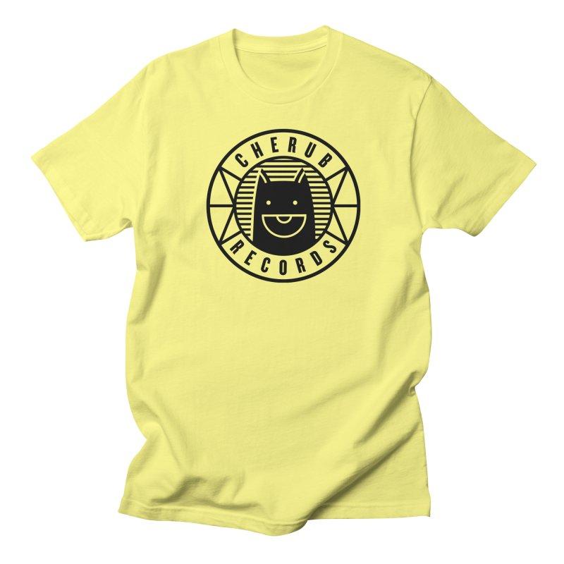 Cherub Circle Logo Men's T-Shirt by The Cherub Records Shop