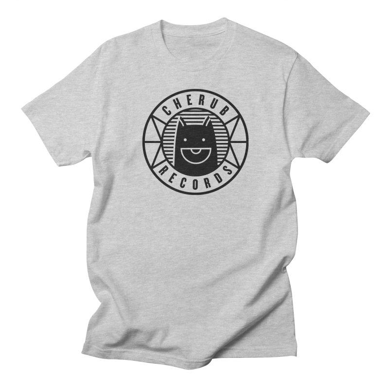 Cherub Circle Logo Men's Regular T-Shirt by The Cherub Records Shop