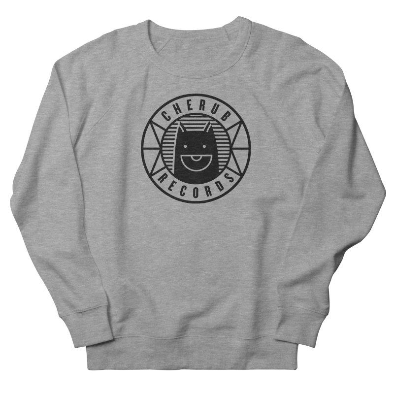 Cherub Circle Logo Men's French Terry Sweatshirt by The Cherub Records Shop