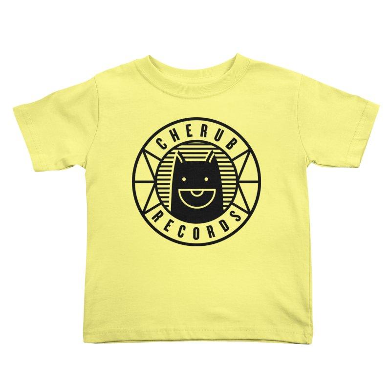 Cherub Circle Logo Kids Toddler T-Shirt by The Cherub Records Shop