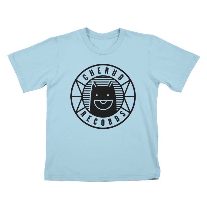 Cherub Circle Logo Kids T-Shirt by The Cherub Records Shop