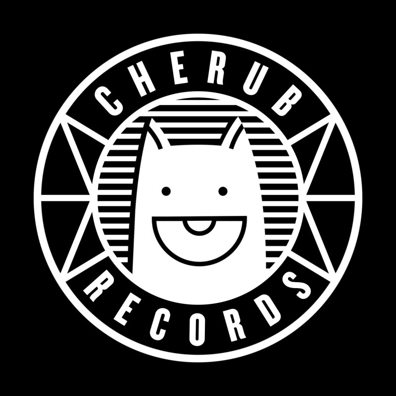 Cherub Circle Logo Reverse   by The Cherub Records Shop