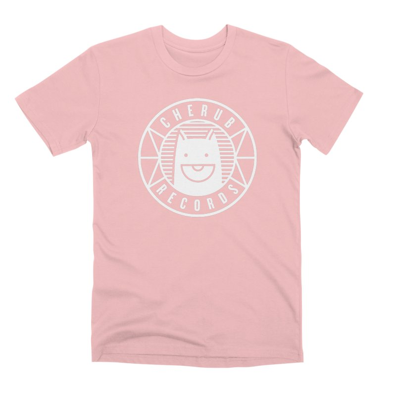 Cherub Circle Logo Reverse Men's Premium T-Shirt by The Cherub Records Shop