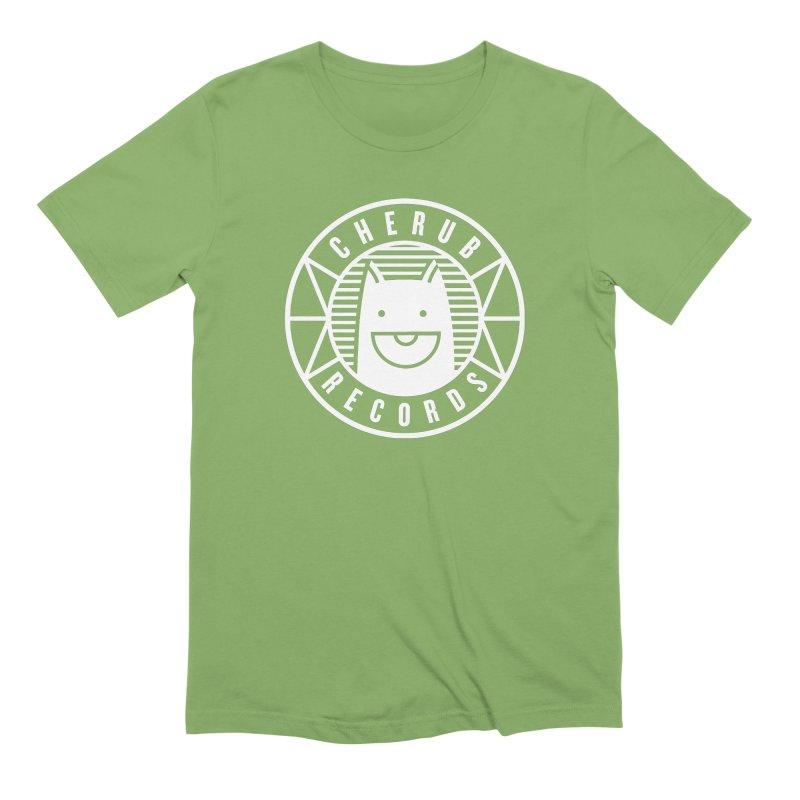 Cherub Circle Logo Reverse Men's Extra Soft T-Shirt by The Cherub Records Shop