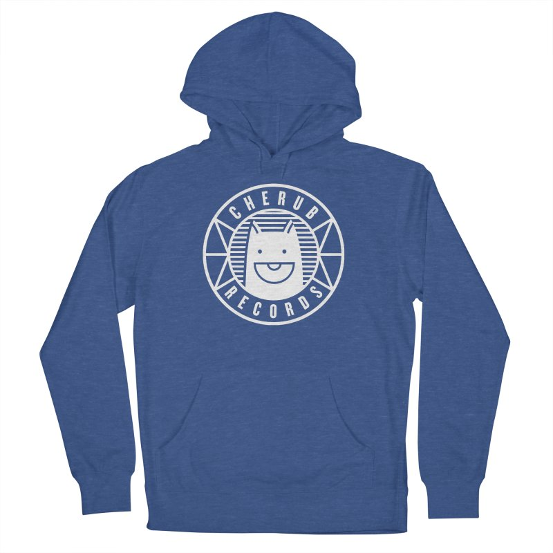 Cherub Circle Logo Reverse Men's French Terry Pullover Hoody by The Cherub Records Shop