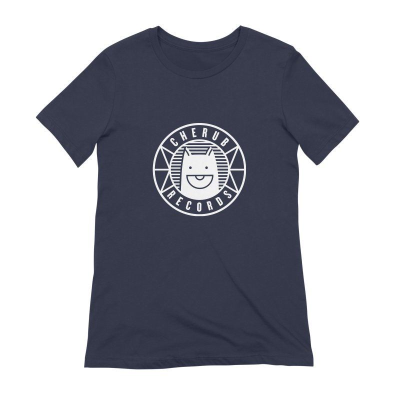 Cherub Circle Logo Reverse Women's Extra Soft T-Shirt by The Cherub Records Shop
