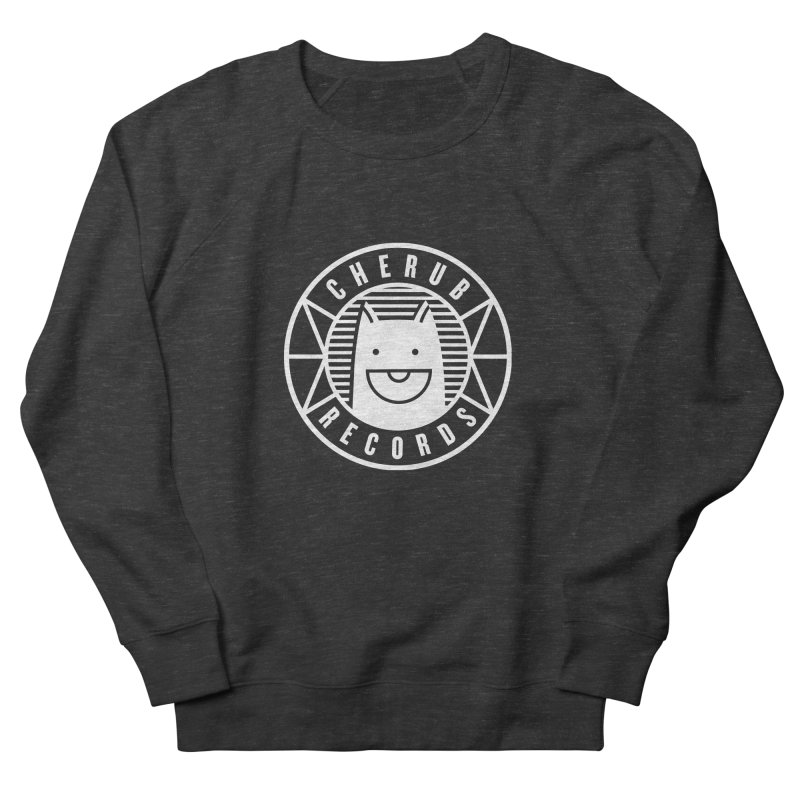Cherub Circle Logo Reverse Men's French Terry Sweatshirt by The Cherub Records Shop