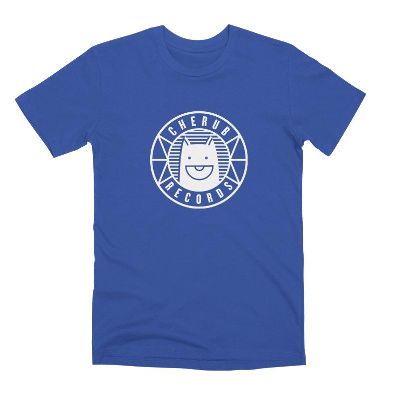 Cherub Circle Logo Reverse Men's T-Shirt by The Cherub Records Shop