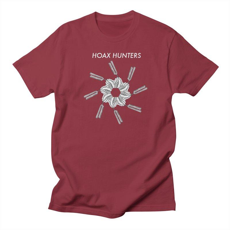 Hoax Hunters Forks Men's Regular T-Shirt by The Cherub Records Shop