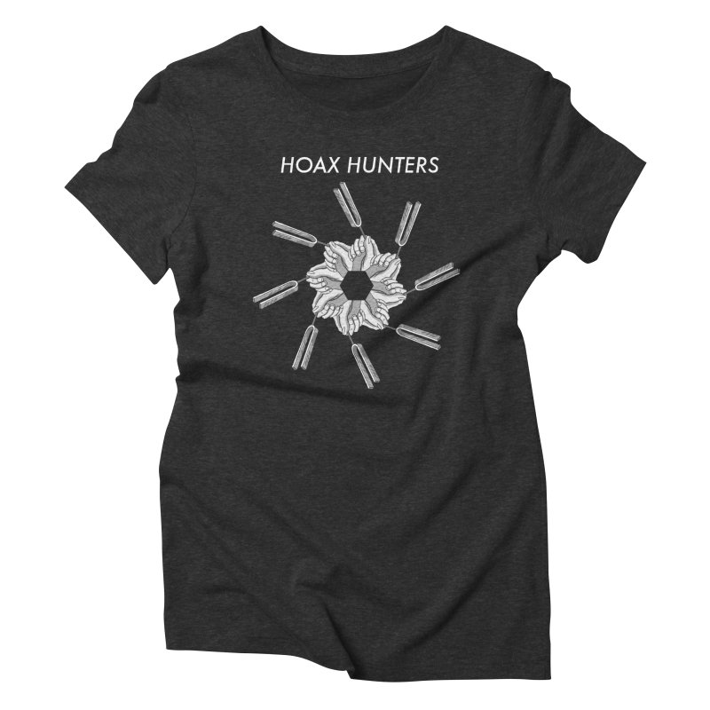 Hoax Hunters Forks Women's Triblend T-Shirt by The Cherub Records Shop