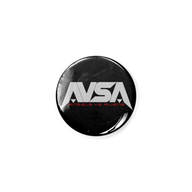 AVSA logo Accessories Button by The Cherub Records Shop