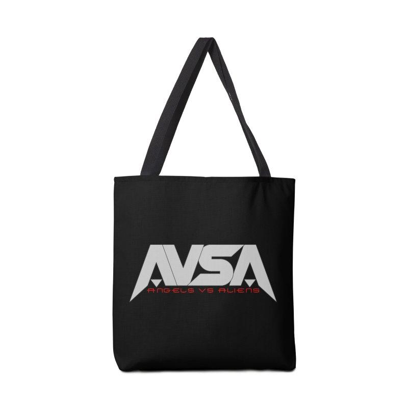 AVSA logo Accessories Tote Bag Bag by The Cherub Records Shop