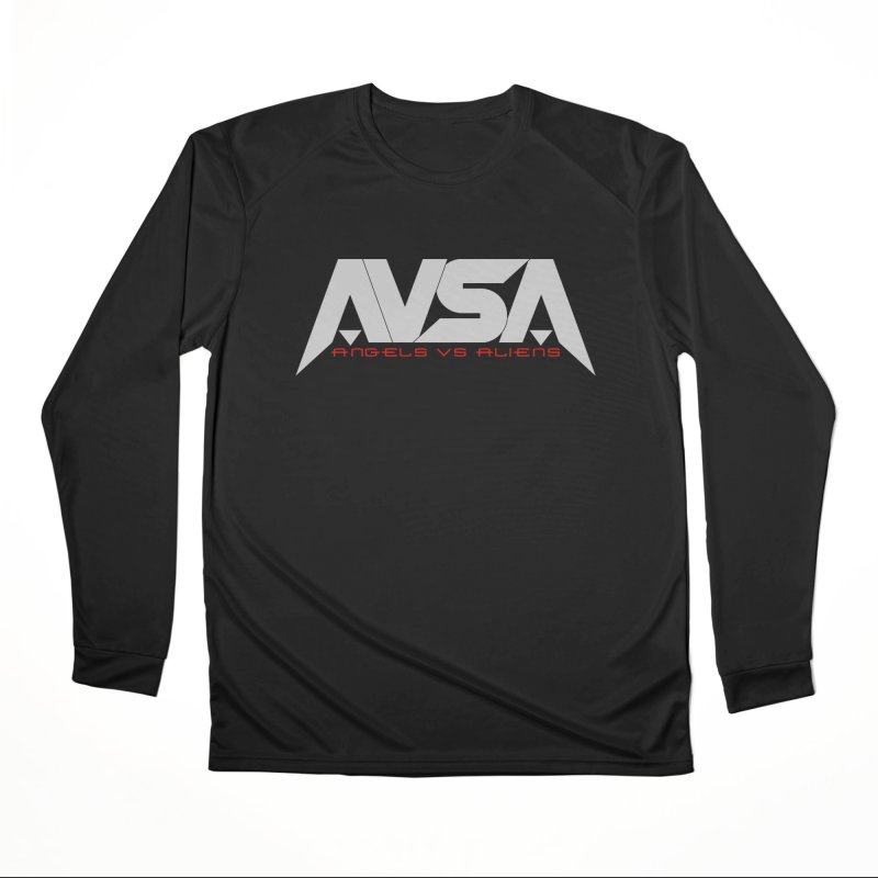 AVSA logo Men's Performance Longsleeve T-Shirt by The Cherub Records Shop