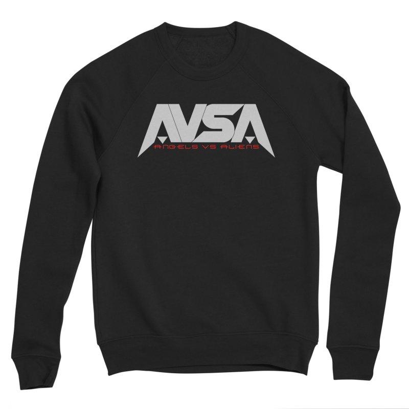 AVSA logo Women's Sponge Fleece Sweatshirt by The Cherub Records Shop