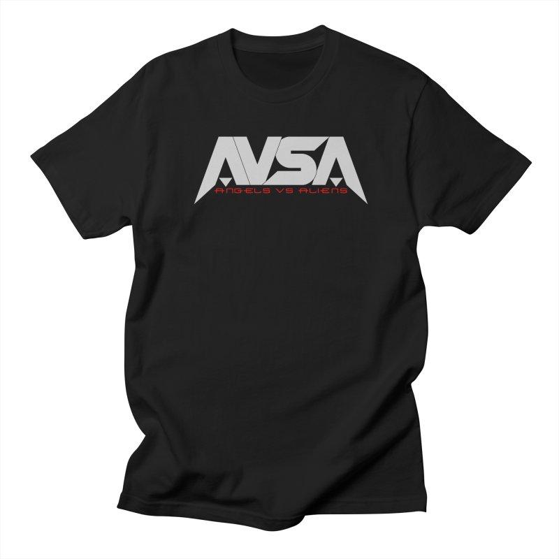 AVSA logo Men's Regular T-Shirt by The Cherub Records Shop