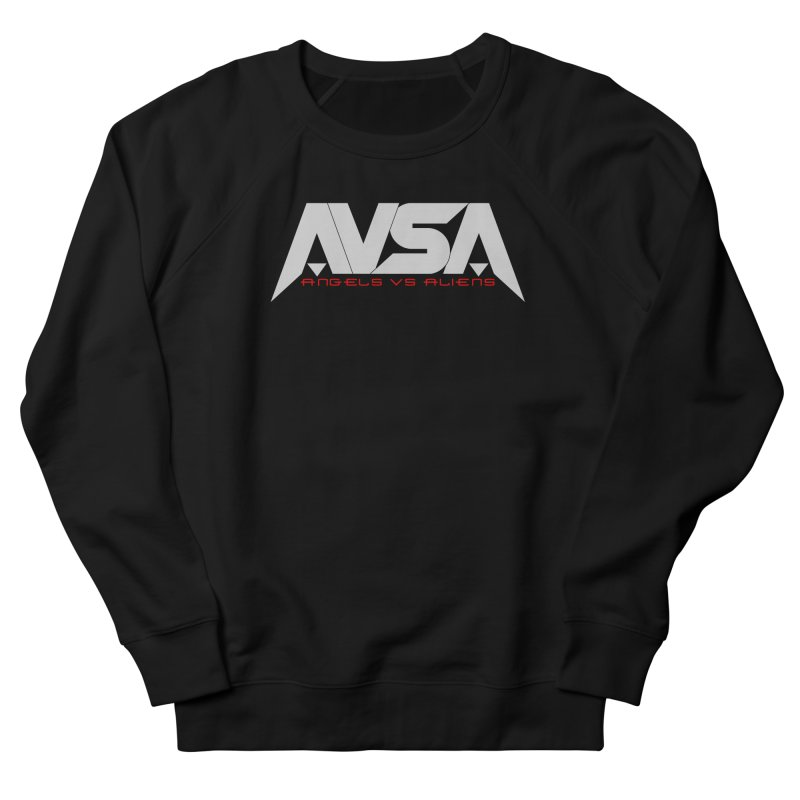 AVSA logo Women's French Terry Sweatshirt by The Cherub Records Shop