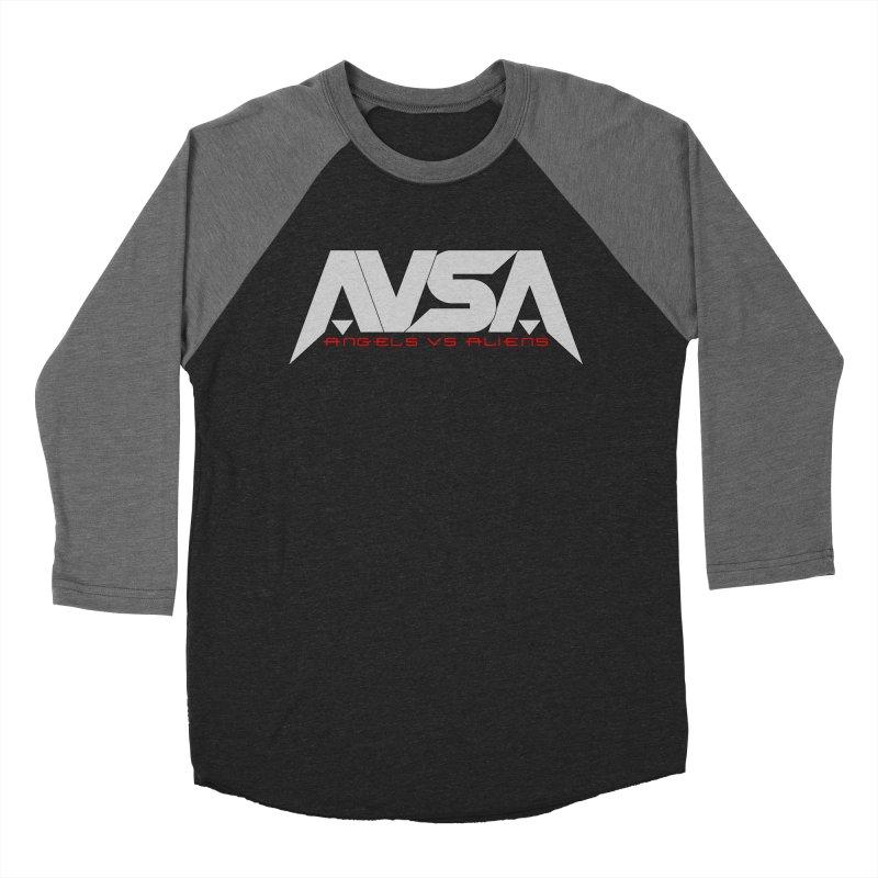 AVSA logo Women's Baseball Triblend Longsleeve T-Shirt by The Cherub Records Shop