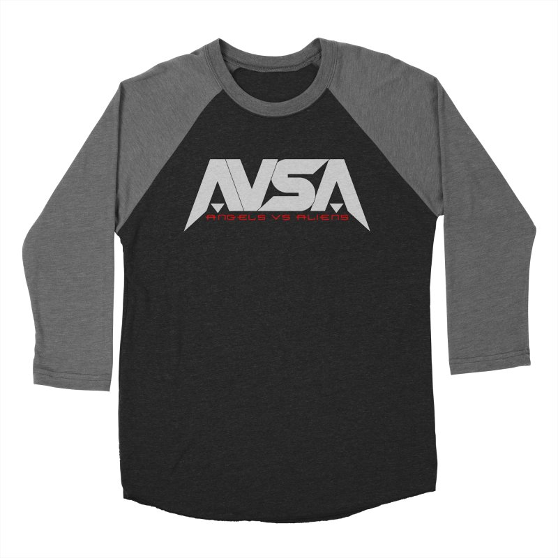 AVSA logo Men's Baseball Triblend Longsleeve T-Shirt by The Cherub Records Shop