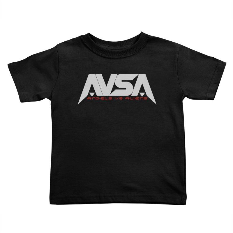 AVSA logo Kids Toddler T-Shirt by The Cherub Records Shop