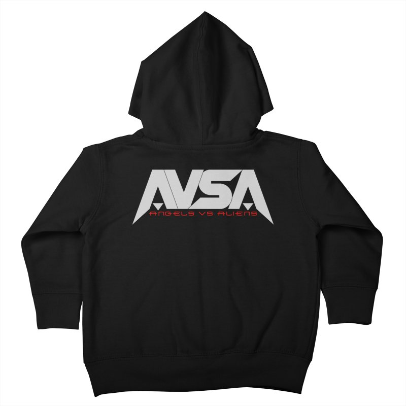 AVSA logo Kids Toddler Zip-Up Hoody by The Cherub Records Shop