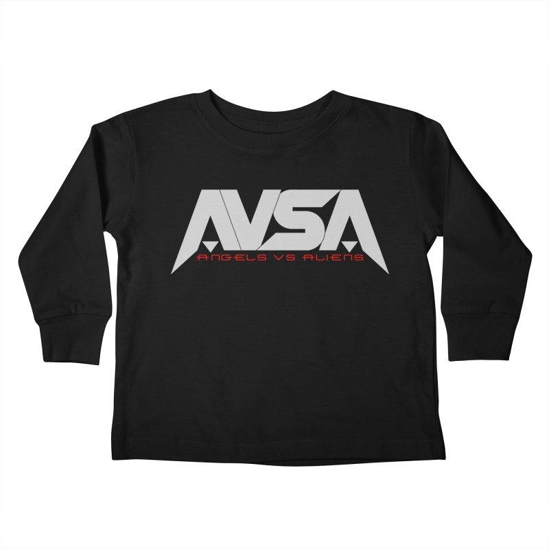 AVSA logo Kids Toddler Longsleeve T-Shirt by The Cherub Records Shop