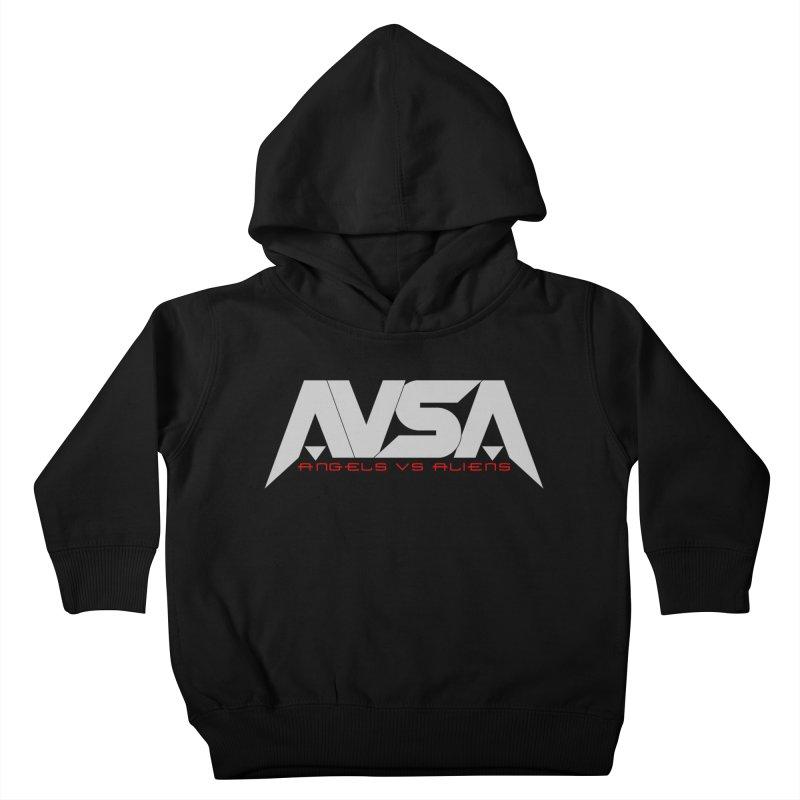 AVSA logo Kids Toddler Pullover Hoody by The Cherub Records Shop