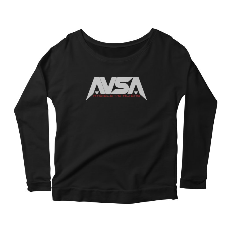 AVSA logo Women's Longsleeve T-Shirt by The Cherub Records Shop
