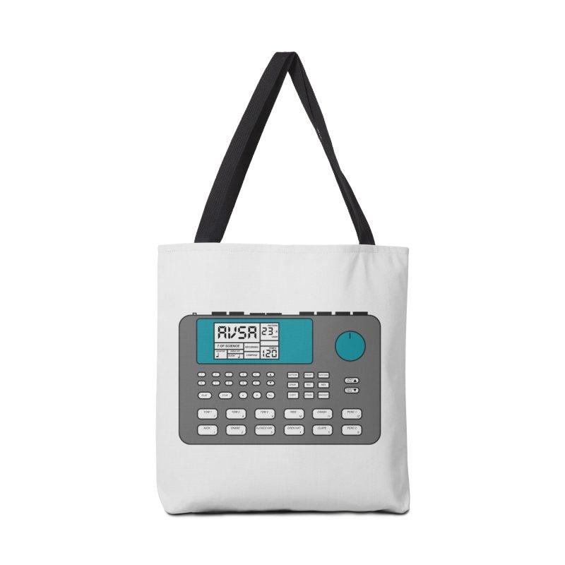AVSA Drum Machine Accessories Tote Bag Bag by The Cherub Records Shop