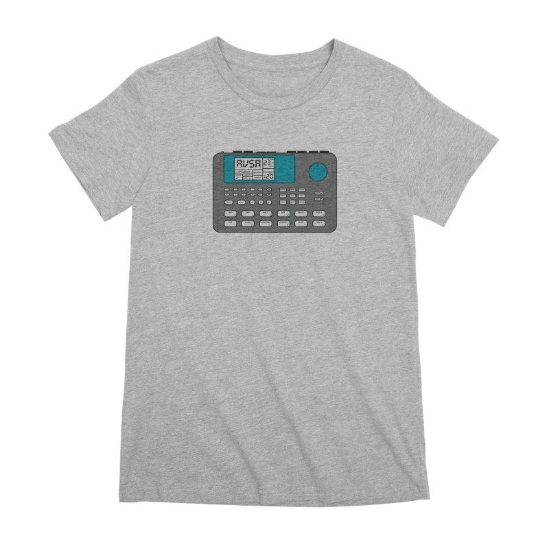 AVSA Drum Machine Women's Premium T-Shirt by The Cherub Records Shop