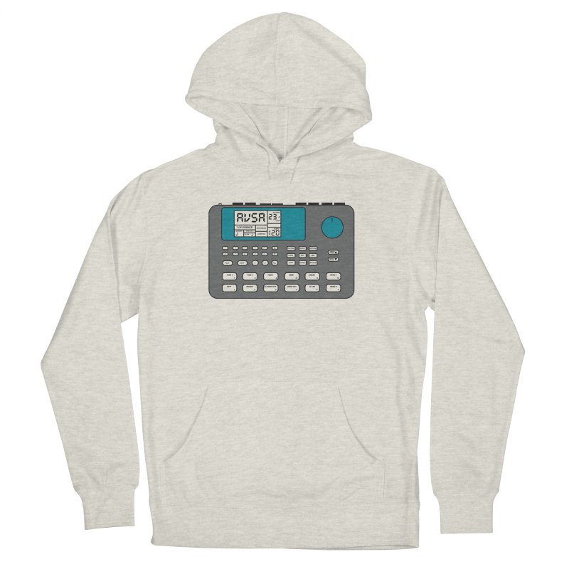 AVSA Drum Machine Women's French Terry Pullover Hoody by The Cherub Records Shop