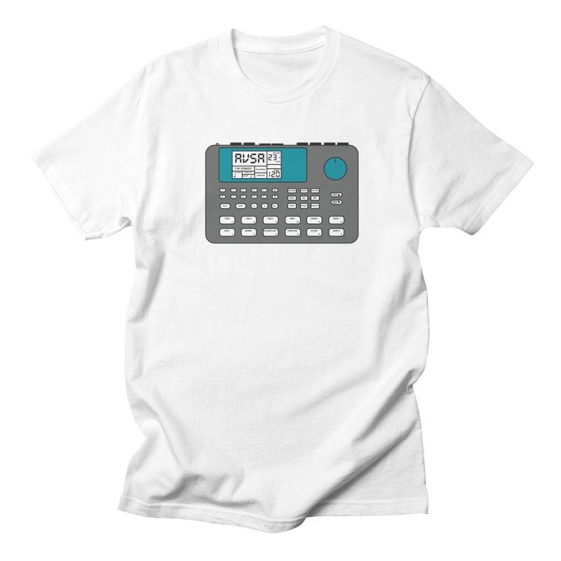 AVSA Drum Machine Men's Regular T-Shirt by The Cherub Records Shop