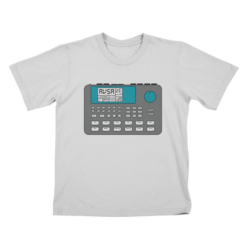 AVSA Drum Machine Kids T-Shirt by The Cherub Records Shop