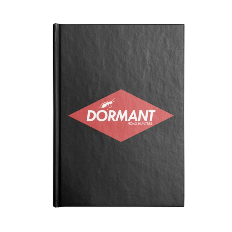 Hoax Hunters Dormant Accessories Blank Journal Notebook by The Cherub Records Shop