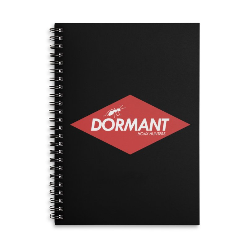 Hoax Hunters Dormant Accessories Lined Spiral Notebook by The Cherub Records Shop