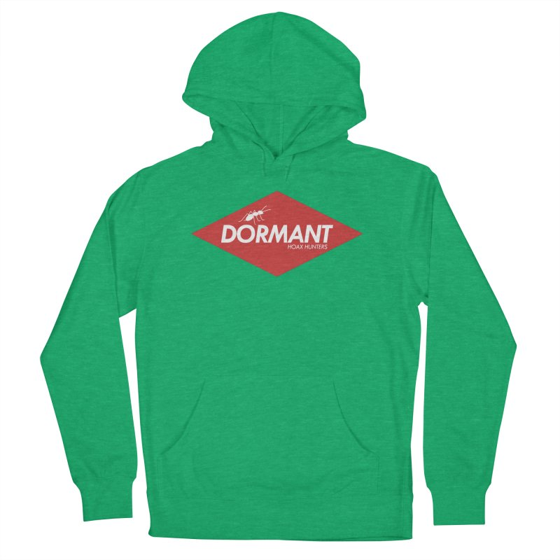 Hoax Hunters Dormant Women's French Terry Pullover Hoody by The Cherub Records Shop